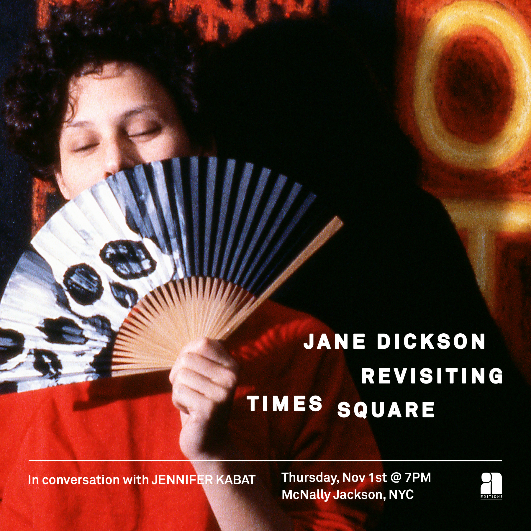 Jane Dickson McNally Jackson Event Flier