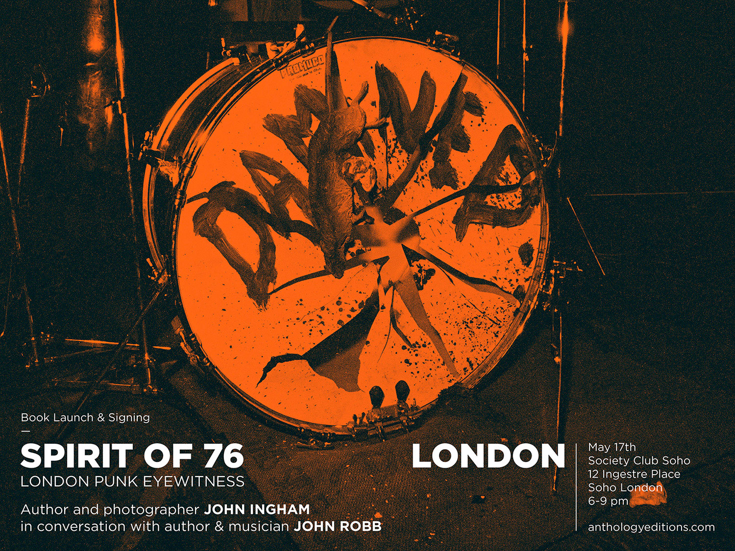 John Ingham Spirit of 76 Soho Club Event