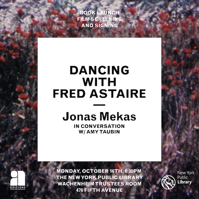 Jonas Mekas - A Dance With Fred Astaire at the NYPL