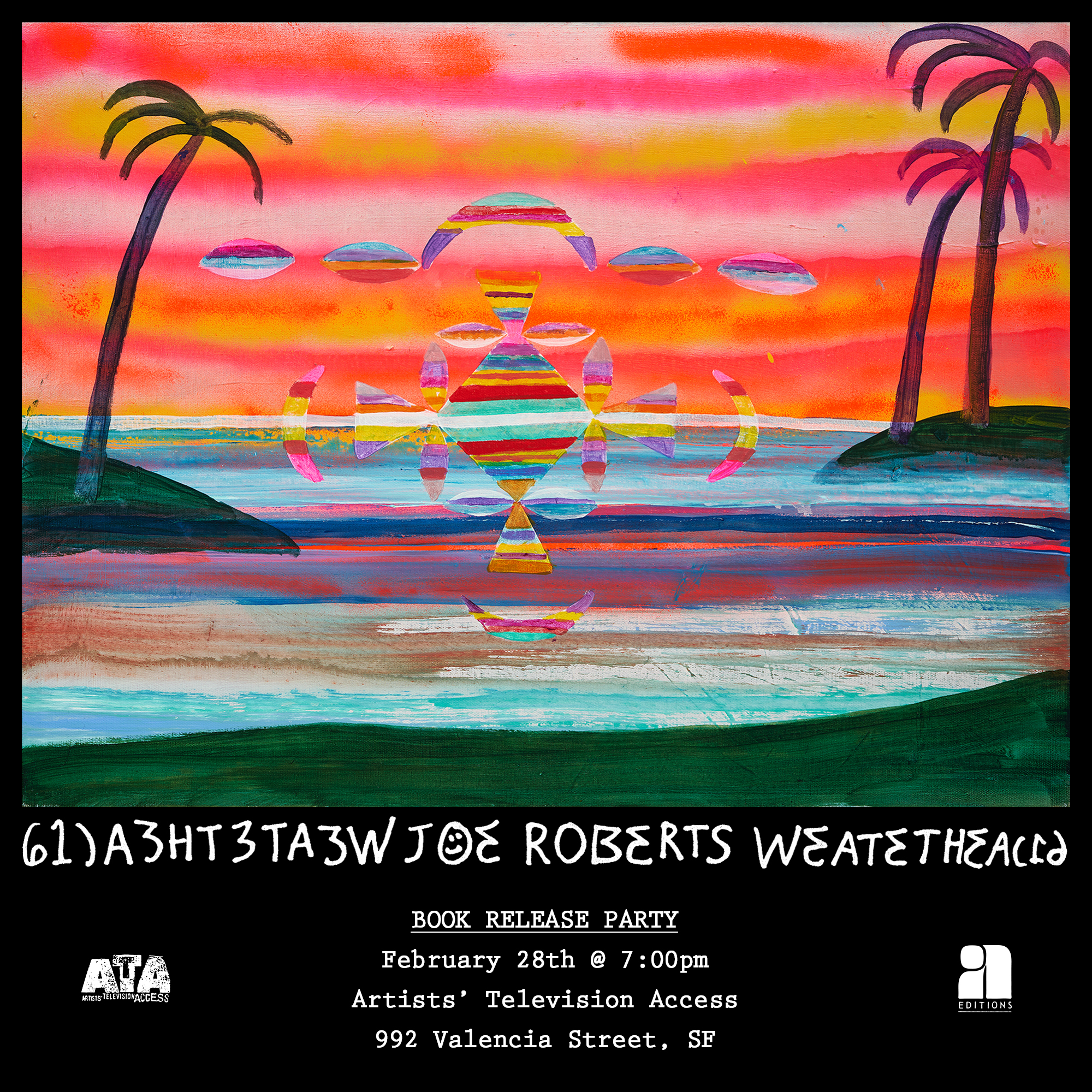Joe Roberts ATA San Francisco Event Poster